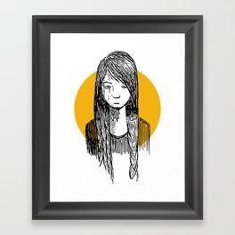 Introverted Framed Art Print