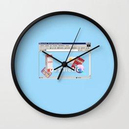 aesthetic mix Wall Clock