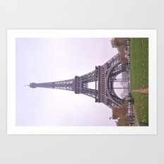 Le Tour Eiffel -Full Art Print