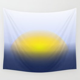Sun going down Wall Tapestry