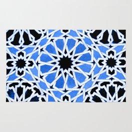 Moroccan Zellige pattern Rug