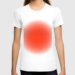 fluodot orange T-shirt
