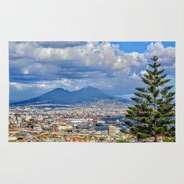 Vesuvius over the City Rug