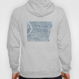Philadelphia City Map Hoody