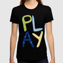 Play Nersery art T-shirt