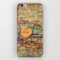 Be Mine New Orleans iPhone & iPod Skin