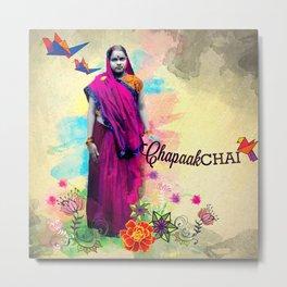 Chapaak Chai Metal Print