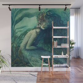 Mermaid Dwynwen Wall Mural