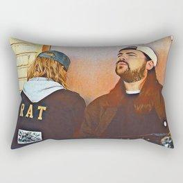 Jay and Silent Bob x Chillin Rectangular Pillow