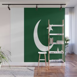 Flag of Pakistan Wall Mural