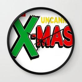 Hero Holidays - Merry Uncanny Xmas_ Christmas Wall Clock