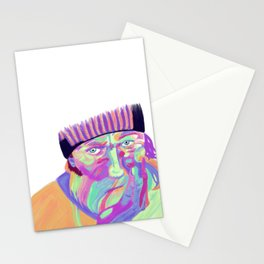 Through his eyes Stationery Cards