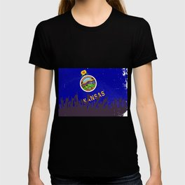 Kansas State Flag with Audience T-shirt
