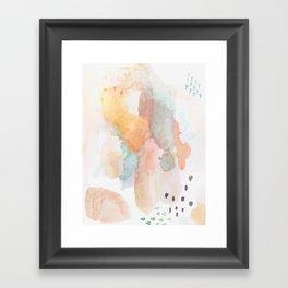 shifting dimensions Framed Art Print