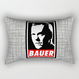Jack Bauer Obey Rectangular Pillow