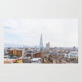 City Skyline View of the Shard, London Rug