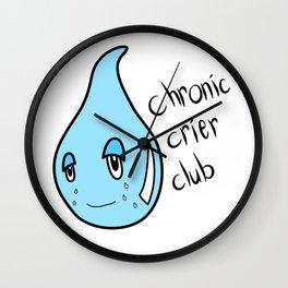 Chronic Crier Club Wall Clock