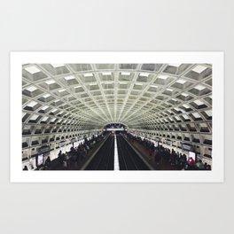 Gallery Place Art Print