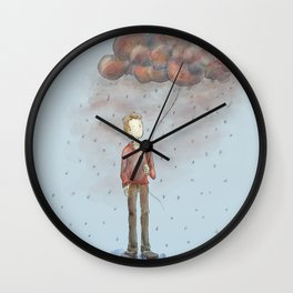 Take Out Cloud Wall Clock