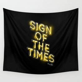 Sign Of The Times Wall Tapestry