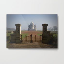 Necropole National Metal Print