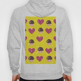 Hearts and cupcakes Hoody