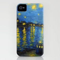 Starry Night Over Cardiff Bay Slim Case iPhone (4, 4s)