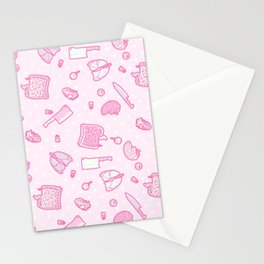 Sweet Yandere (Pink) Stationery Cards