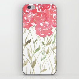 A Bunch Of Red Roses iPhone Skin