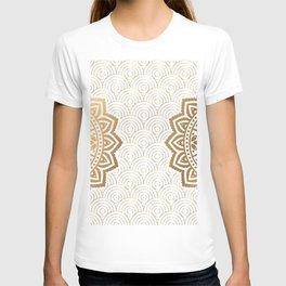 Gold Mandala 13 T-shirt