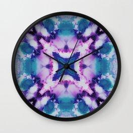 Tentacles Abstract Wall Clock