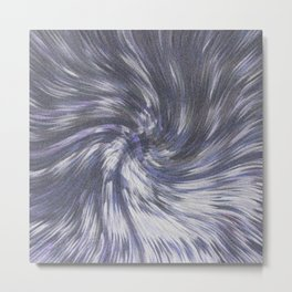 COMING OUT OF HYPERSPACE IN THE VEGA SYSTEM Metal Print