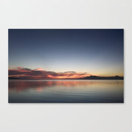 End of Day 1 Canvas Print