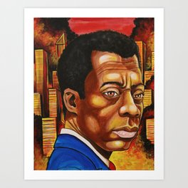 James Baldwin: The Fire Next Time Art Print