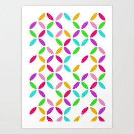 Colour Block Art Print