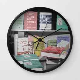 Home Economics Wall Clock
