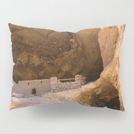 Ancient Pueblo - Gila Cliff Dwellings Pillow Sham