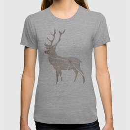 Wood Grain Stag T-shirt