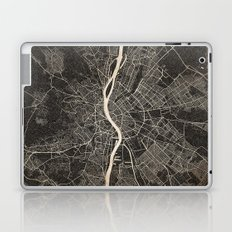 budapest map ink lines 2 Laptop & iPad Skin