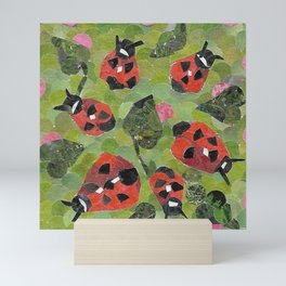 """"""" Ladybugs """" Mini Art Print"""