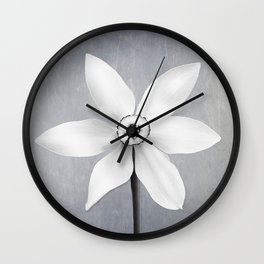 Botanical Shadows Wall Clock