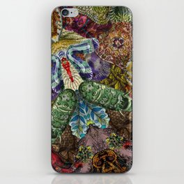 Psychedelic Botanical 5 iPhone Skin