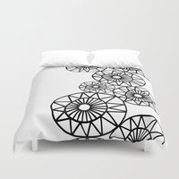 circles Duvet Covers featuring Circles by Dream Of Forest