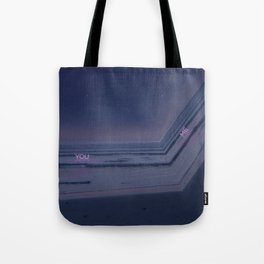 Drifting in and out. Tote Bag