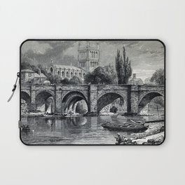 Cathedrals, abbeys and churches of England and Wales Laptop Sleeve