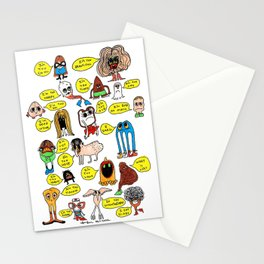 What's Wrong With You? Stationery Cards