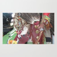 native Area & Throw Rugs featuring Native by NikkiColwell