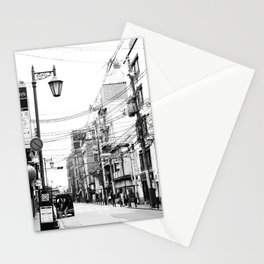 The Streets of Gion, Kyoto Stationery Cards