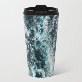 Green Seas, Yes Please Travel Mug