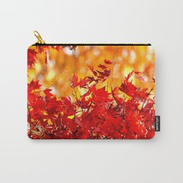 RED AND ORANGE AUTUMN Carry-All Pouch